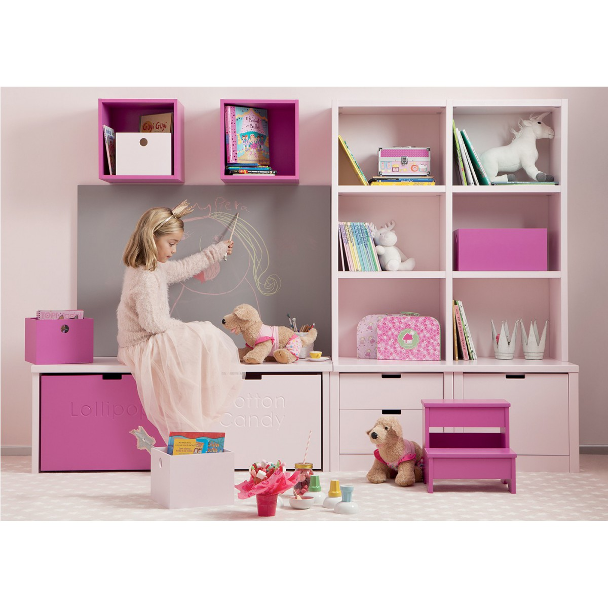 biblioth que enfant junior ado design et de qualit asoral. Black Bedroom Furniture Sets. Home Design Ideas