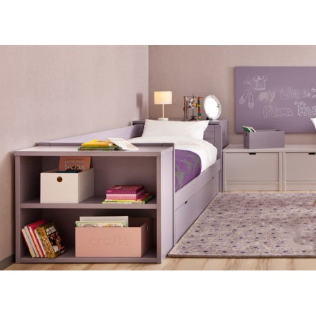 chambre d 39 enfant haut de gamme avec lit et bureau design. Black Bedroom Furniture Sets. Home Design Ideas