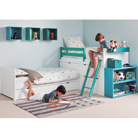 coin nuit design et haut de gamme pour chambre d 39 enfants sign asoral. Black Bedroom Furniture Sets. Home Design Ideas