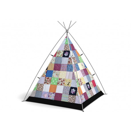 TENTE LITTLE CAMPERS PATCHWORK VINTAGE LIBERTY