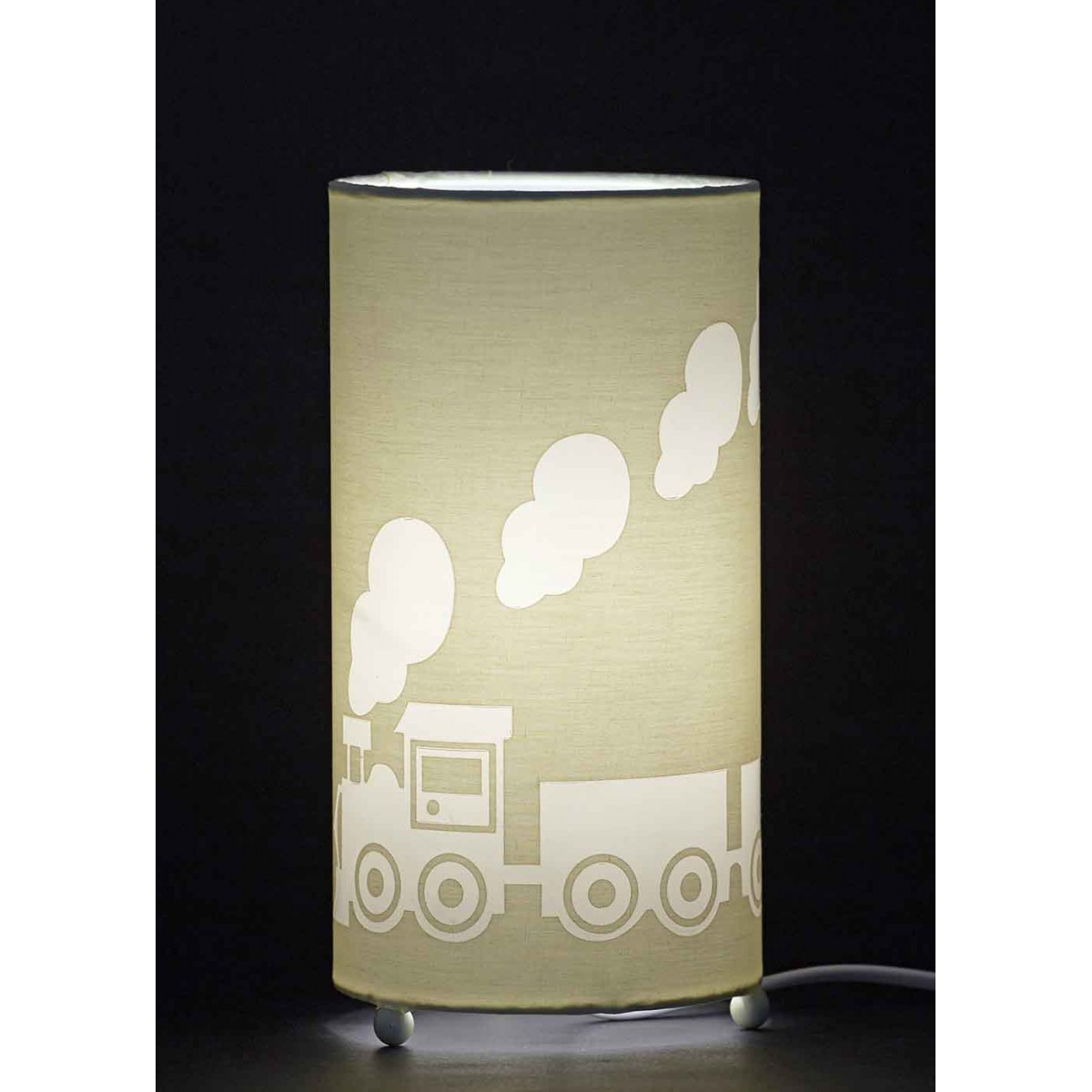lampe enfant gar on th me petit train aratextil. Black Bedroom Furniture Sets. Home Design Ideas