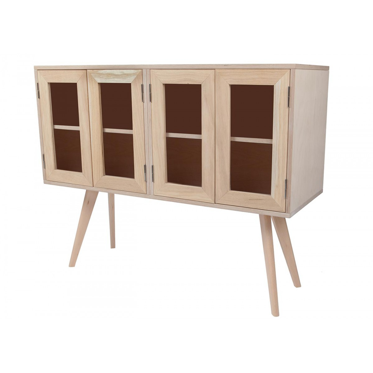 buffet en bois vintage nud sign blomkal. Black Bedroom Furniture Sets. Home Design Ideas