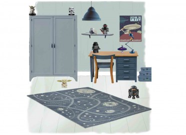 TAPIS ENFANT LITTLE GALAXY SIGNE NATTIOT