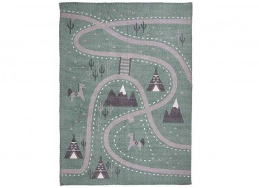 TAPIS ENFANT LITTLE WESTERN SIGNE NATTIOT