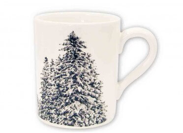 SET DE 6 MUGS THEME MEGEVE PAR ANGEL DES MONTAGNES