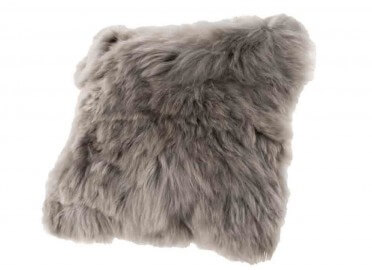 COUSSIN RECTANGLE OU CARRE EN BABY ALPACA ECRU GRIS MARRON OU TAUPE LIMA PAR ANGEL DES MONTAGNES