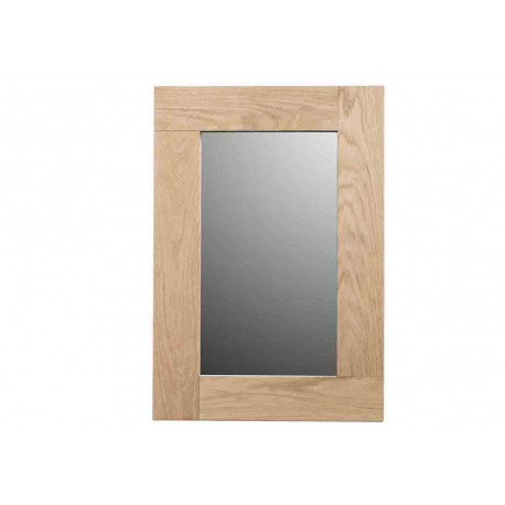 miroir en ch ne naturel brut par angel des montagnes. Black Bedroom Furniture Sets. Home Design Ideas