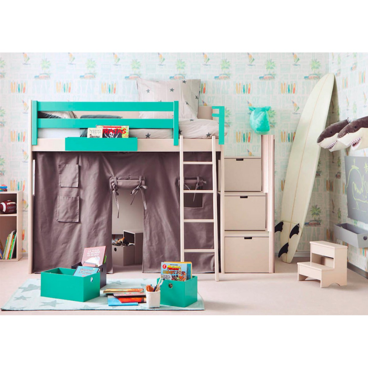 Mobilier chambre junior design for Mobilier chambre complete