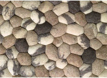 TAPIS FAIT MAIN ON THE ROCKS