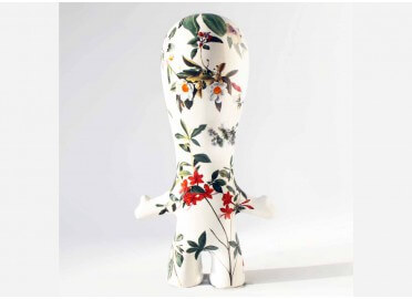 FIGURINE D'ART CONTEMPORAIN ART TOY FLORA