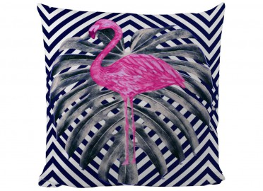 COUSSIN DECORATIF FLAMANT ROSE PAR BUTTER KINGS