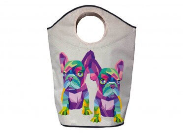 PANIER DE RANGEMENT BEBE BOULEDOGUE MULTICOLORE BUTTER KINGS
