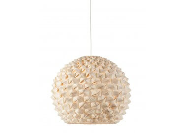 SUSPENSION GLOBE EN BAMBOU NATUREL Ø44 CM SAGANO PAR GOOD&MOJO