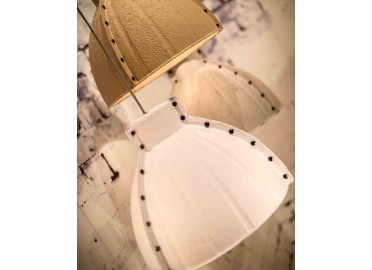 SUSPENSION EN PATE A PAPIER BLANC OU NATUREL YELLOWSTONE PAR GOOD&MOJO