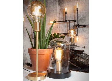 LAMPE DE TABLE DECORATIVE  ET DESIGN DORE CANNES PAR ITS ABOUT ROMI
