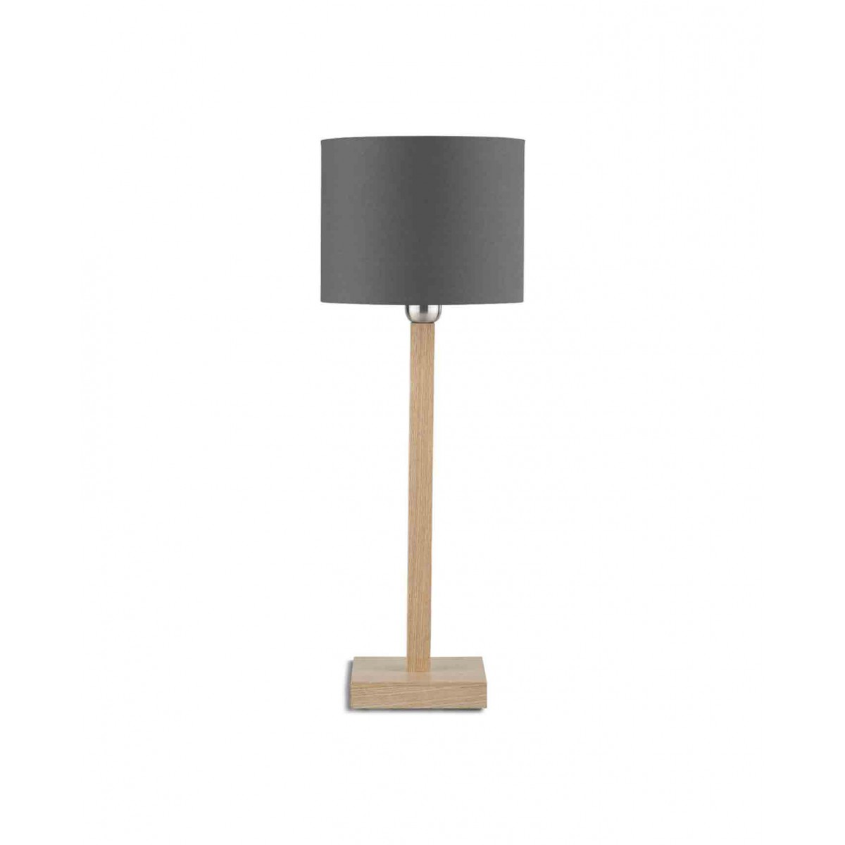 lampe d co en bois et abat jour de couleurs kobe par its. Black Bedroom Furniture Sets. Home Design Ideas