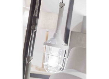 BALADEUSE SUSPENSION 5M DESIGN INDUSTRIEL NOIR BLANCHE OU GRIS-VERT LEEDS - ITS ABOUT ROMY