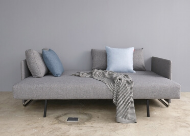 CANAPE LUXE DU DESIGNER PER WEISS COLORIS GRIS UPEND - INNOVATION LIVING