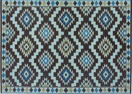 Awesome tapis marron et bleu images awesome interior for Tapis exterieur bleu