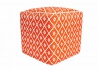 POUF CUBIQUE ORANGE JAUNE OU NOIR INTERIEUR EXTERIEUR ARABIAN PAR GREEN DECORE Green Decore