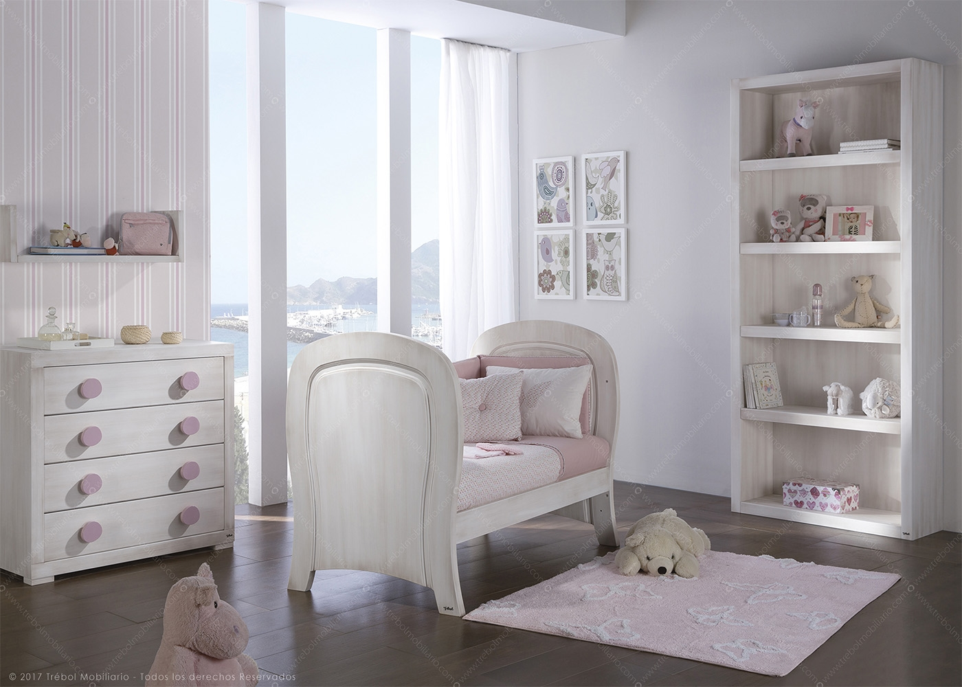 chambre pour enfant haut de gamme trebol chez ksl living. Black Bedroom Furniture Sets. Home Design Ideas