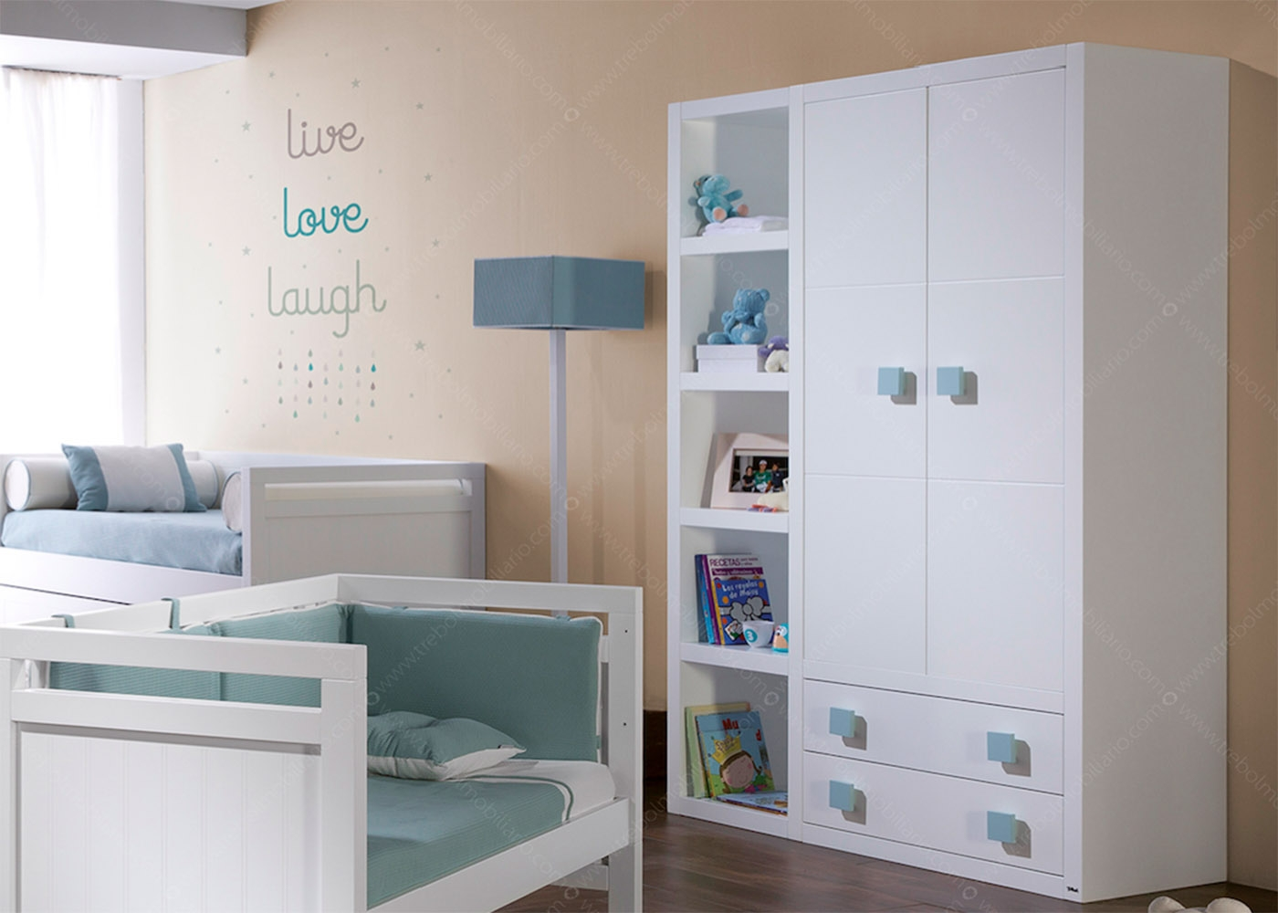 chambre enfant haut de gamme sign e trebol chez ksl living. Black Bedroom Furniture Sets. Home Design Ideas