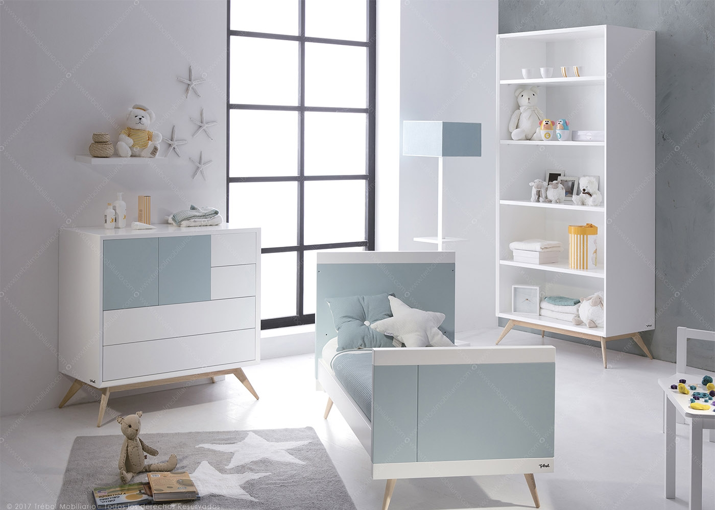 chambre enfant haut de gamme design scandinave chez ksl living. Black Bedroom Furniture Sets. Home Design Ideas