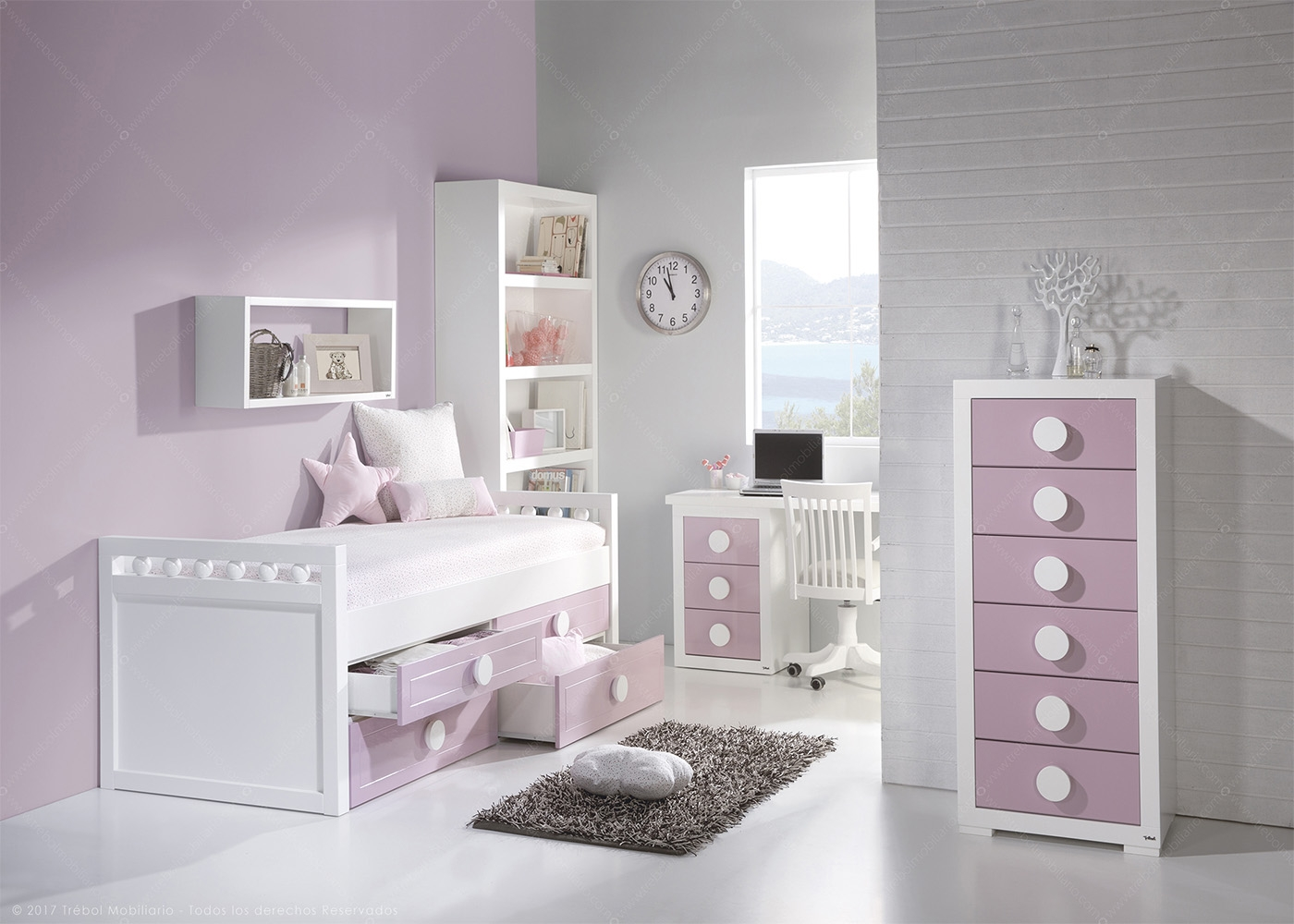 chambre fille ou gar on de qualit et personnalisable chez ksl living. Black Bedroom Furniture Sets. Home Design Ideas