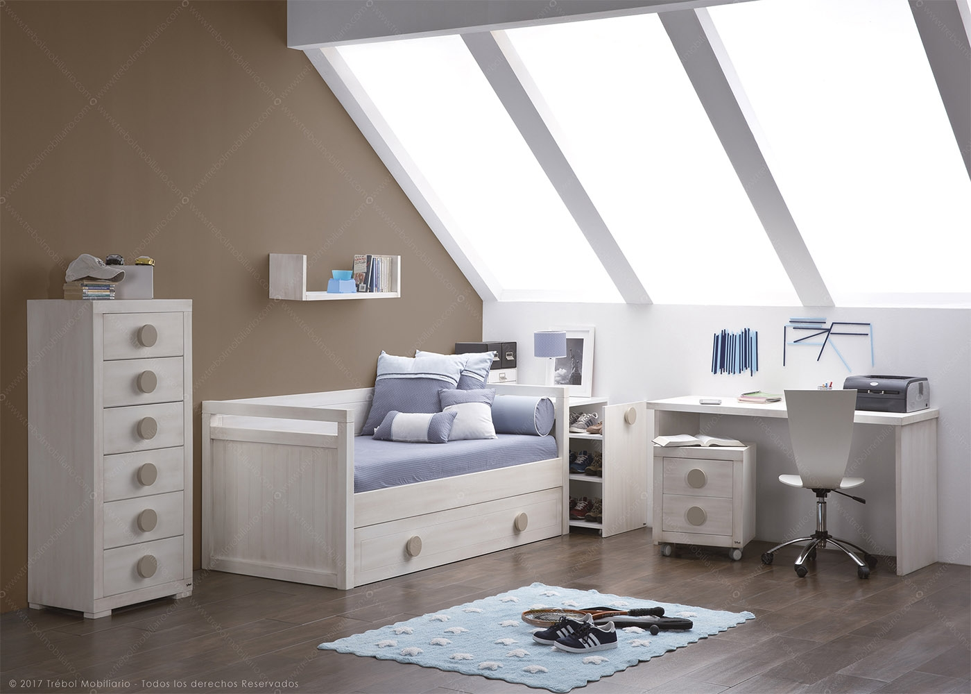 chambre junior design et de haute qualit chez ksl living. Black Bedroom Furniture Sets. Home Design Ideas