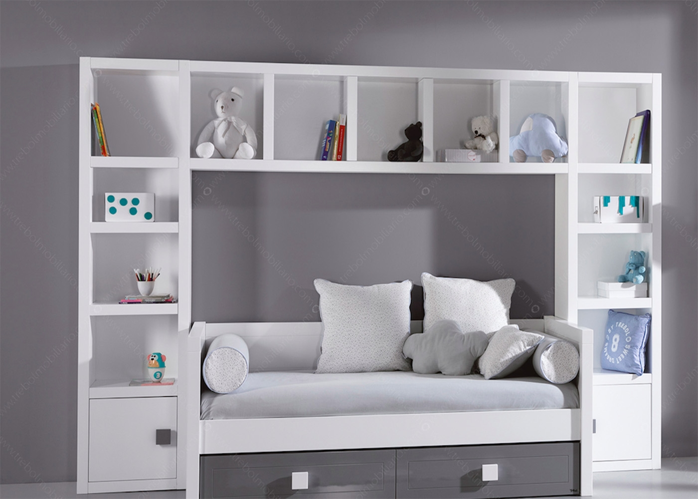 am nagement chambre tudiant ou studio chez ksl living. Black Bedroom Furniture Sets. Home Design Ideas
