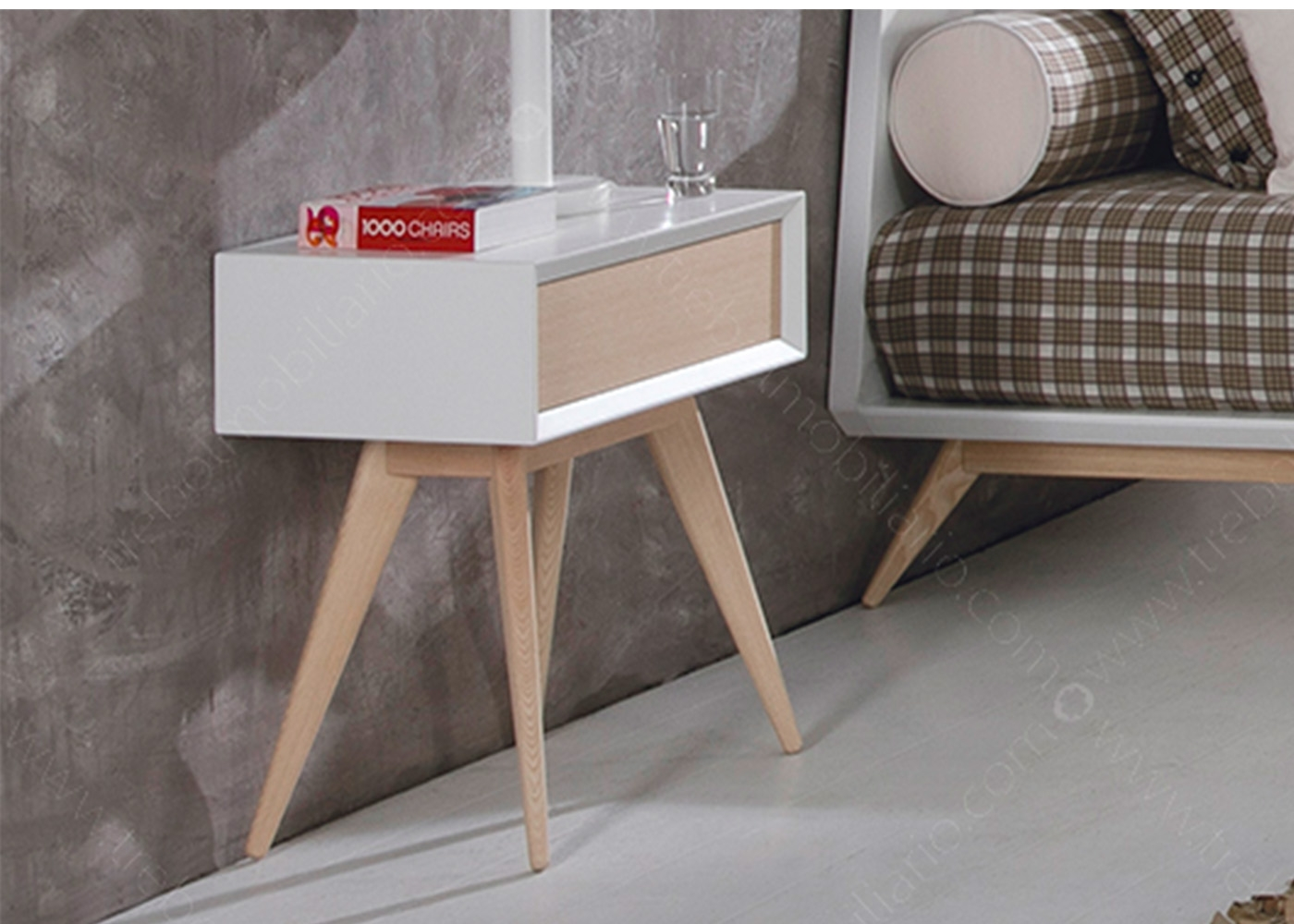 Table de nuit design et de qualit chez ksl living - Table de nuit scandinave ...