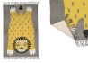 TAPIS ENFANT AMBIANCE SAVANE MOTIF LION BABA COLLECTION WORLD SPIRIT SIGNE NATTIOT Nattiot