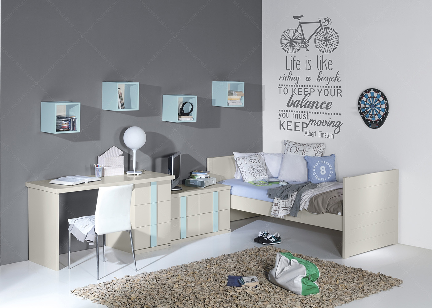 chambre enfant design scandinave haut de gamme chez ksl living. Black Bedroom Furniture Sets. Home Design Ideas