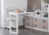 AMENAGEMENT DE STUDIO IDEAL GAIN DE PLACE AVEC LIT ESCAMOTABLE BUREAU ET BIBLIOTHEQUE - URBAN ZONE PAR TREBOL TREBOL