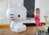 LAMPE DECORATIVE ENFANT HELLO KITTY A LED AVEC TELECOMMANDE PAR ELFABASE