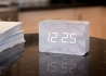 HORLOGE REVEIL HIGH-TECH BRICK CLICK CLOCK PAR GINGKO