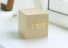 HORLOGE REVEIL DESIGN ET HIGH TECH CUBE CLICK CLOCK PAR GINGKO Gingko
