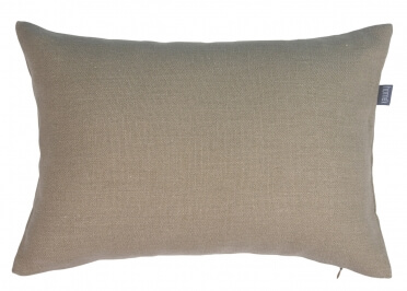 COUSSIN DECORATIF 100% LIN BEIGE CORK - COLLECTION SQUAIL PAR HOME CONCEPT