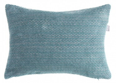 COUSSIN DECORATIF EN COTON BLEU 50X50 OU 30X40 - DEEP NIGHT PAR HOME CONCEPT