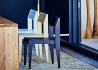 SET DE 2 CHAISES CONTEMPORAINES EN FRENE NATUREL, BLANC OU WENGE - NORA PAR JANKURTZ