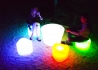 TABLE BASSE LUMINEUSE NOMADE OU FILAIRE - ISLOON TABLE PAR LINK Link
