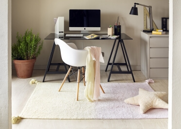 TAPIS DYE 5 DEGRADES DE COULEURS TRES TENDANCES - LORENA CANALS