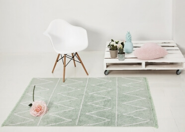 TAPIS COTON DESIGN GRAPHIQUE HIPPY - LORENA CANALS
