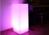 JARDINIERE LUMINEUSE ECLAIRAGE NOMADE OU FILAIRE - SQUARE TOWER PAR LINK