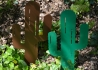 CACTUS DECORATIF A PLANTER EN METAL VERT OU ROUILLE MR PIQUE PAR IDFER IDfer
