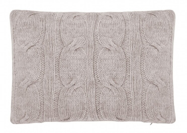SET DE 2 COUSSINS GRIS OU TAUPE KENT PAR HOUSE IN STYLE
