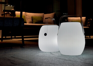 LAMPE DE JARDIN CONNECTEE LED ET BLUETOOTH - POP LAMP TALENTI