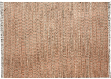 TAPIS BEIGE ECRU EN CHANVRE ET COTON - 2 TAILLES PRIAM - THE RUG REPUBLIC