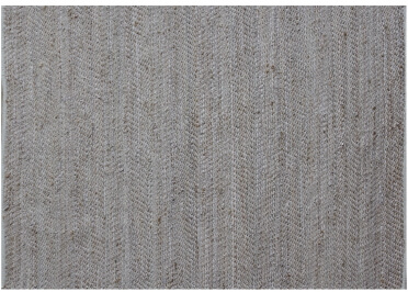 TAPIS EN CUIR ET CHANVRE BEIGE OU CHARBON STABLES - THE RUG REPUBLIC
