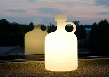 LAMPE A POSER BOTTLE OF LIGHT